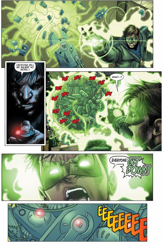 green lantern saves the u.n. council