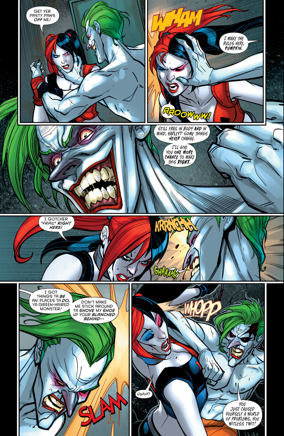 harley quinn vs the joker
