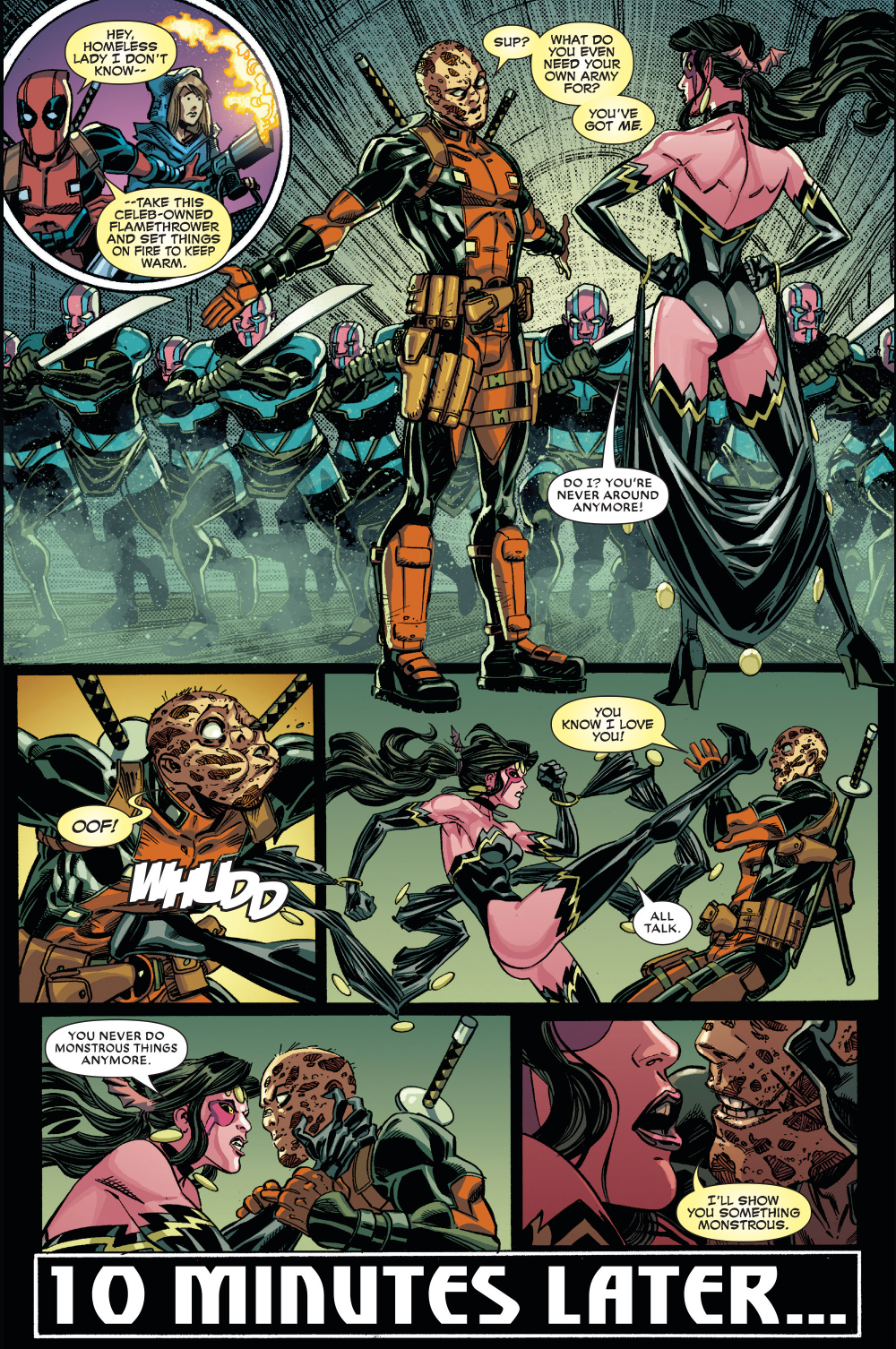 how deadpool handles a lovers quarrel