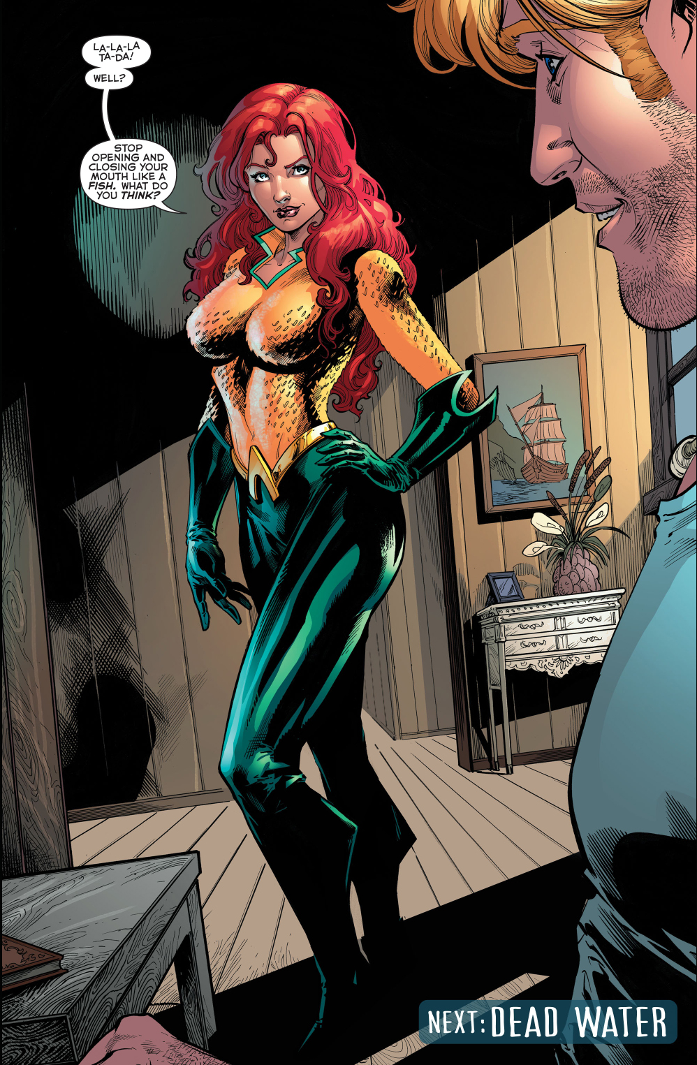 mera's new costume