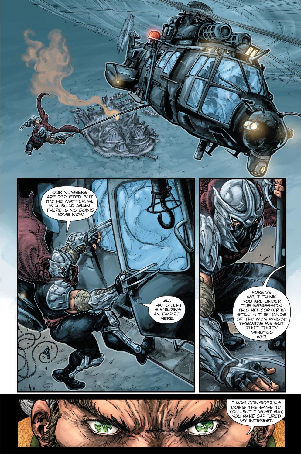 the shredder meets ra's al ghul