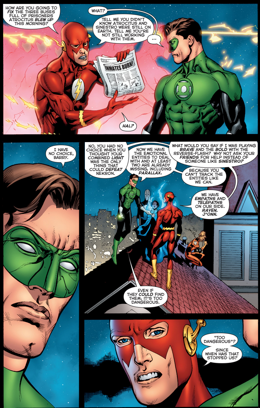why the flash doesn't like green arrow