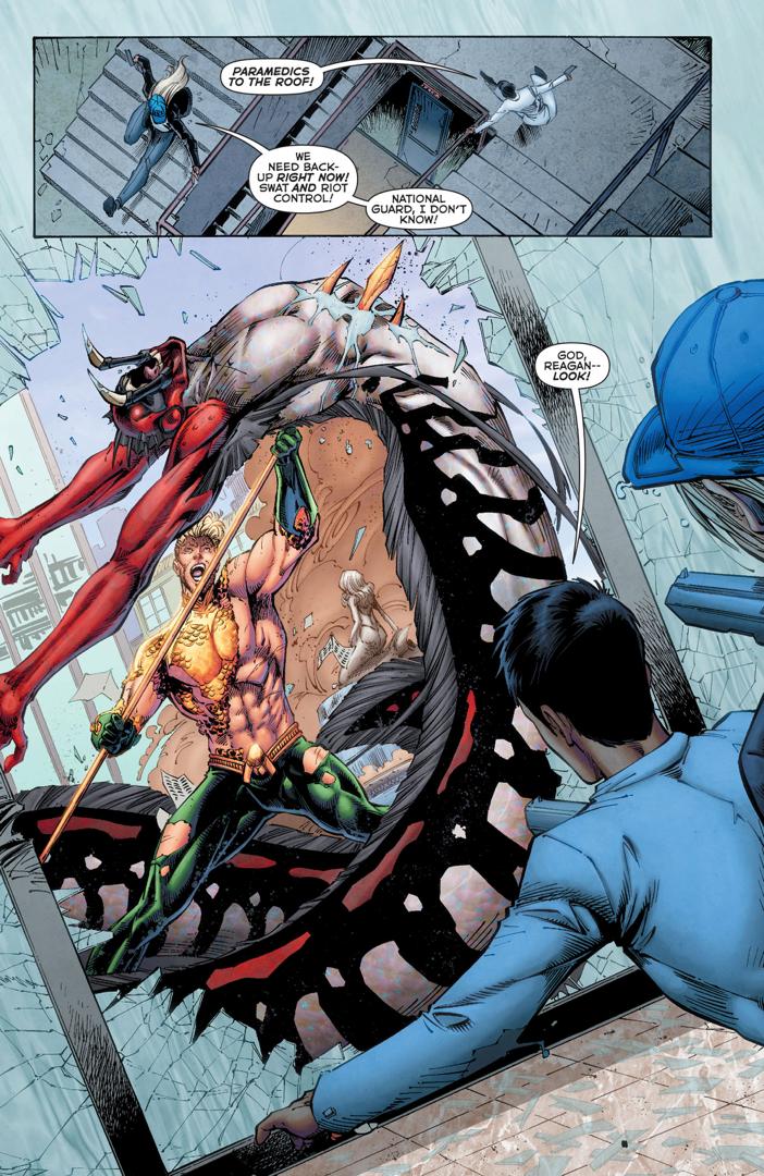 Aquaman VS Dead Water