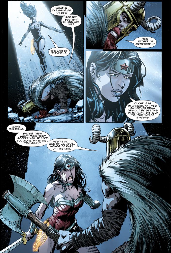 Ares VS Wonder Woman