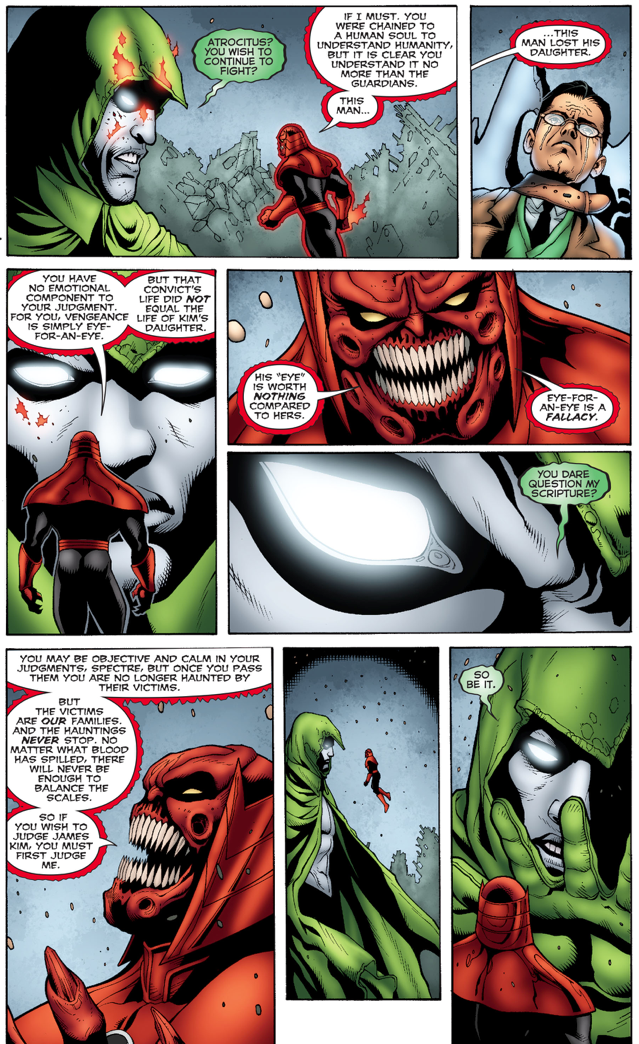 "Atrocitus And The Spectre Debates About ""An Eye For An Eye"""