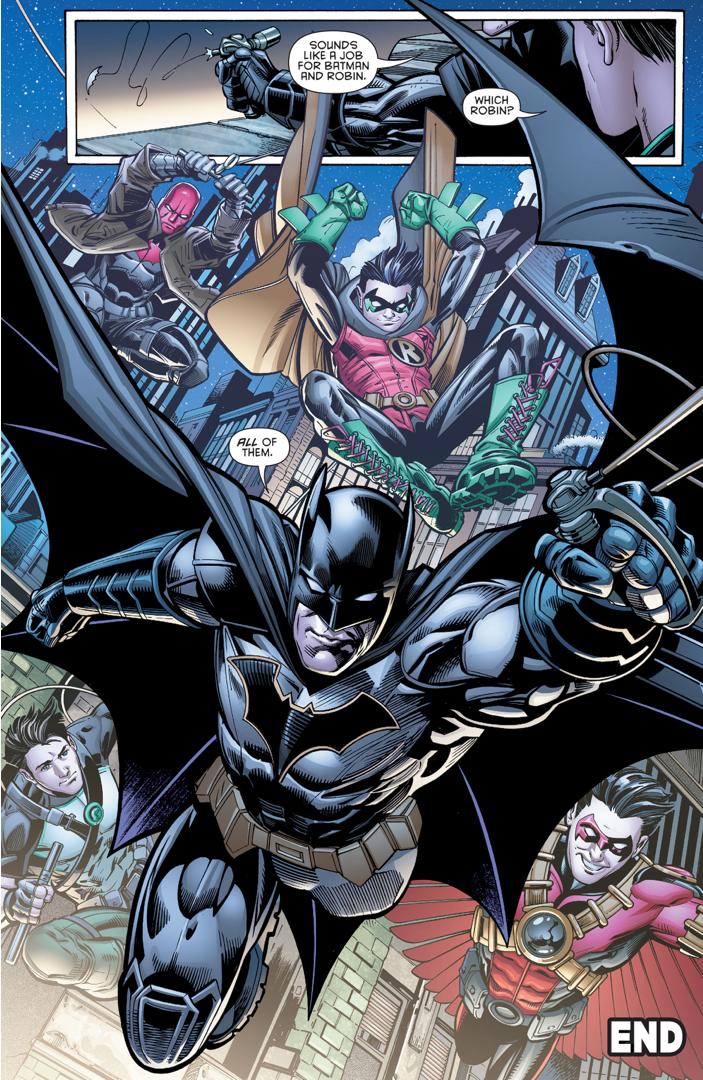 Batman And All 4 Robins (Batman & Robin Eternal #26)