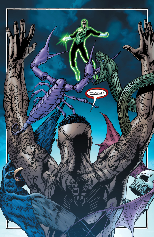 batman and green lantern vs the tattooed man