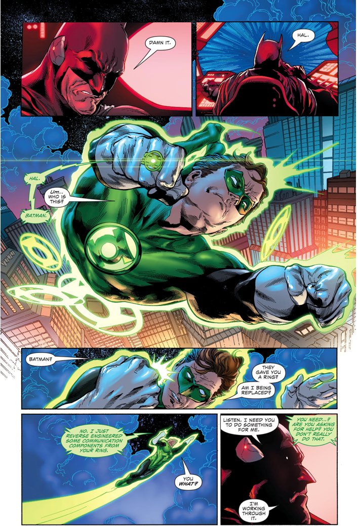 Batman Hacks Green Lantern's Ring