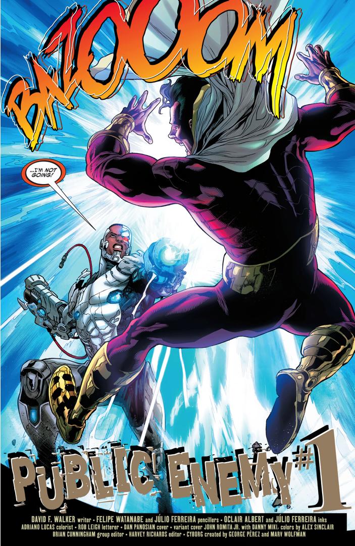 cyborg vs shazam