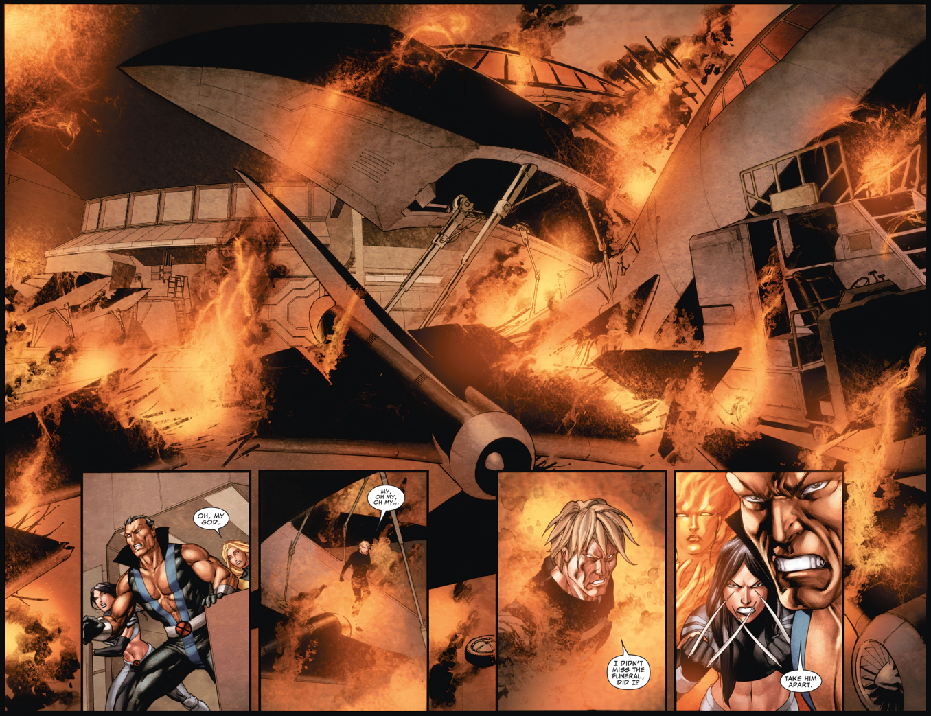 Cyclops Kills Donald Pierce