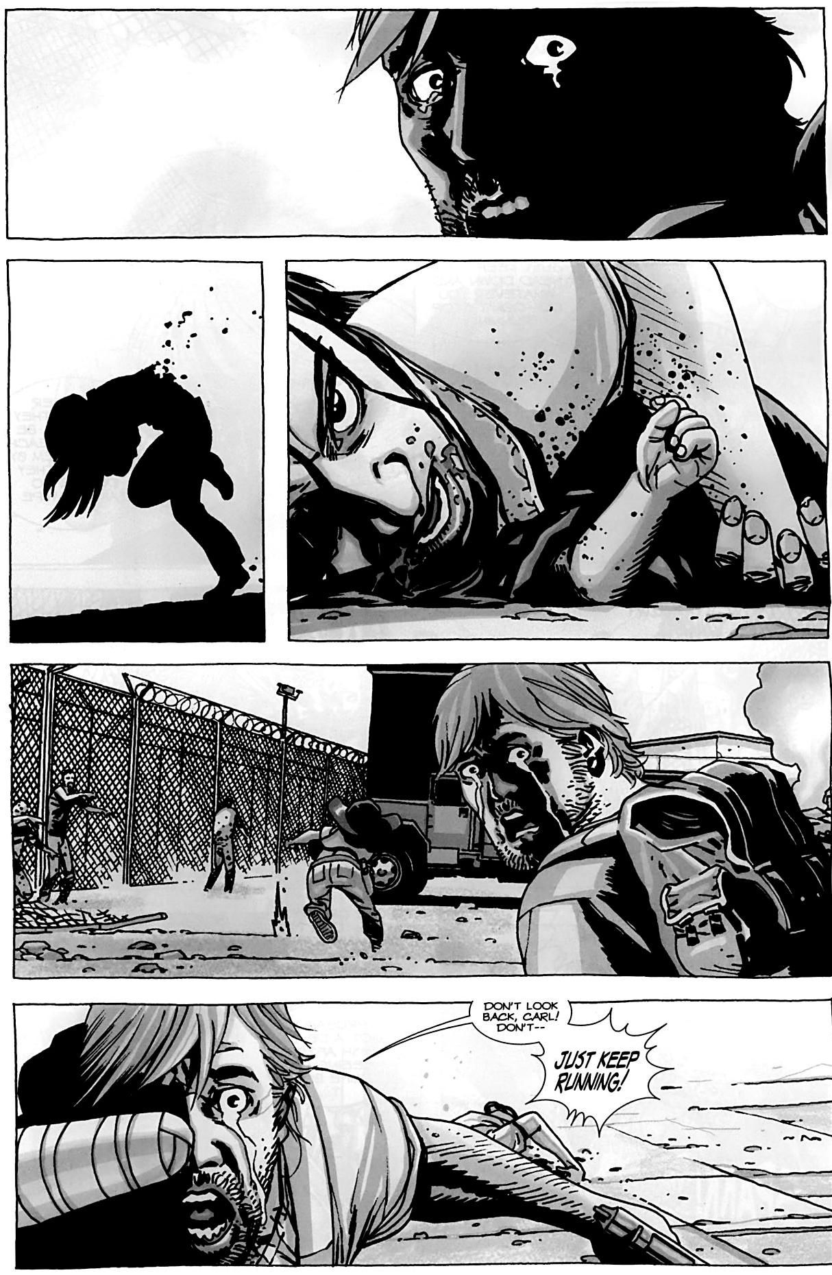 death of lori and judith grimes