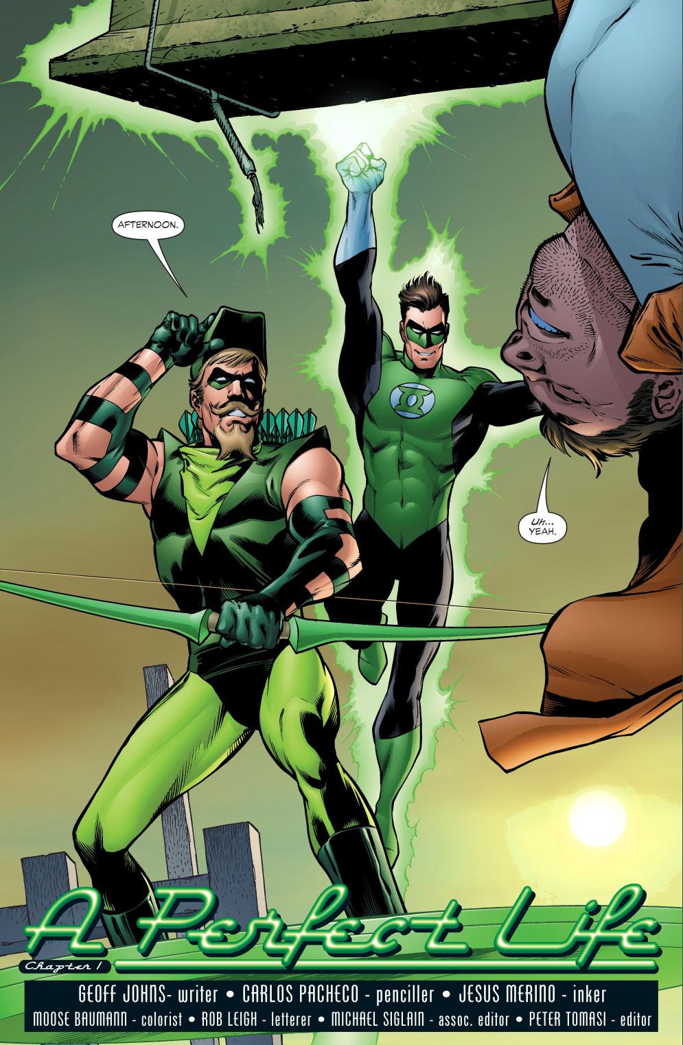 green lantern and green arrow (green lantern vol. 4 #7)