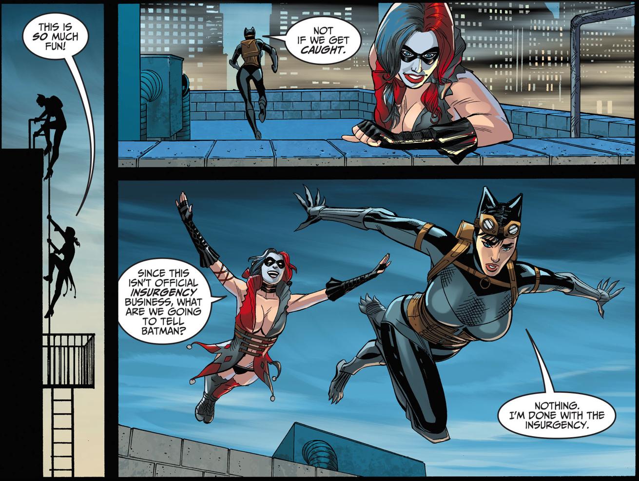 Harley Quinn Fails As A Cat Burglar