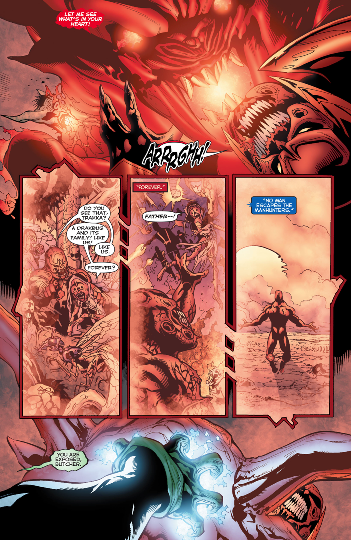 How Atrocitus Trapped The Butcher Inside His Lantern
