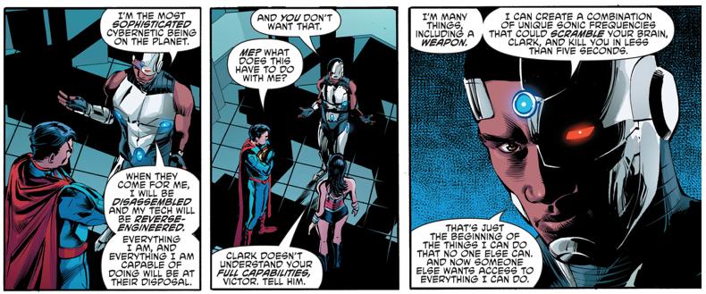 How Cyborg Can Kill Superman