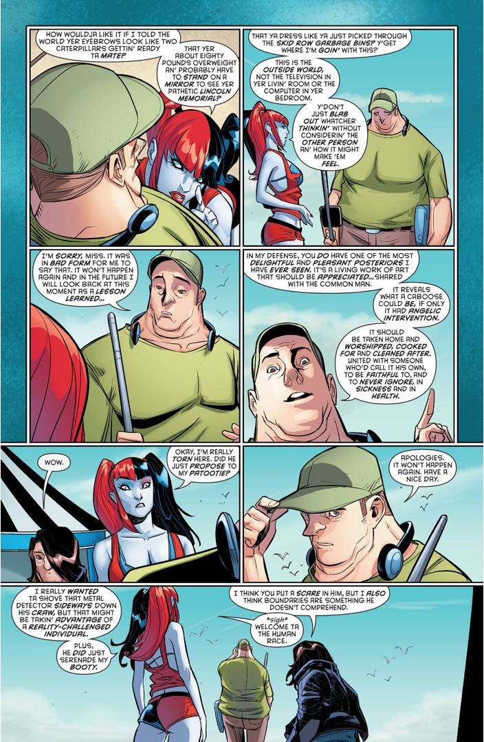 How Harley Quinn Dealt With A Cat Caller