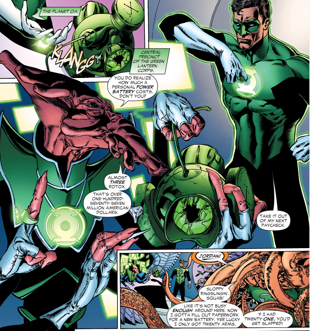how much a green lantern power battery costs