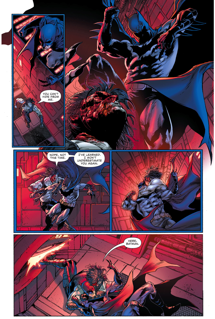 Lobo Tries To Kill Batman