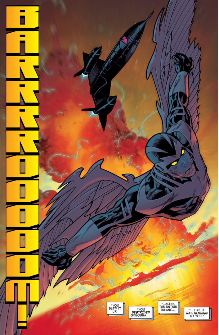 Magneto Destroys Genosha