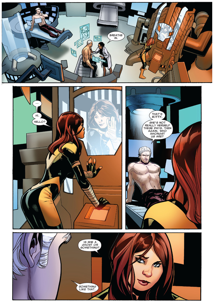 Magneto's First Meeting With Hope Summers