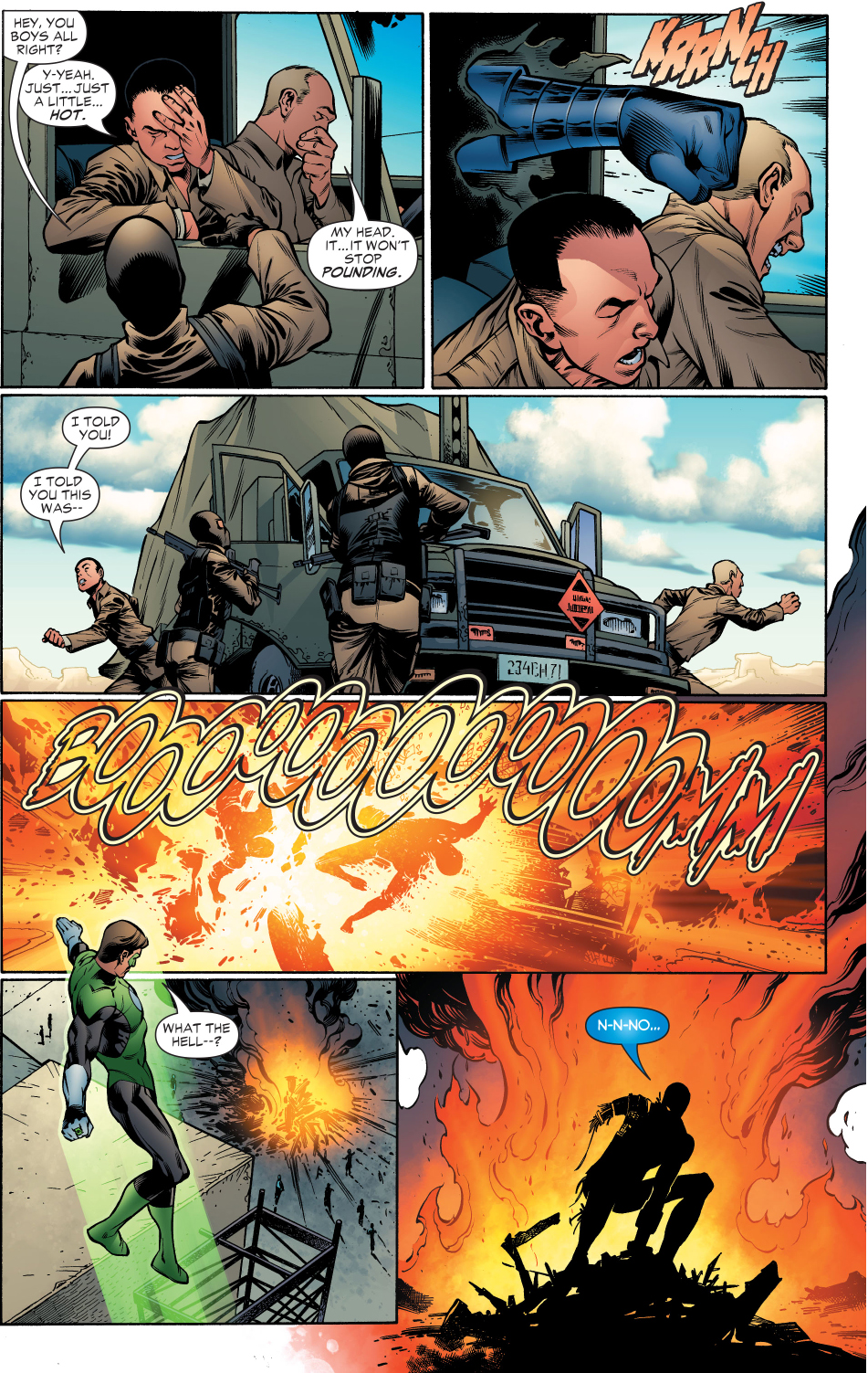 Manhunter (green lantern vol. 4 #2)