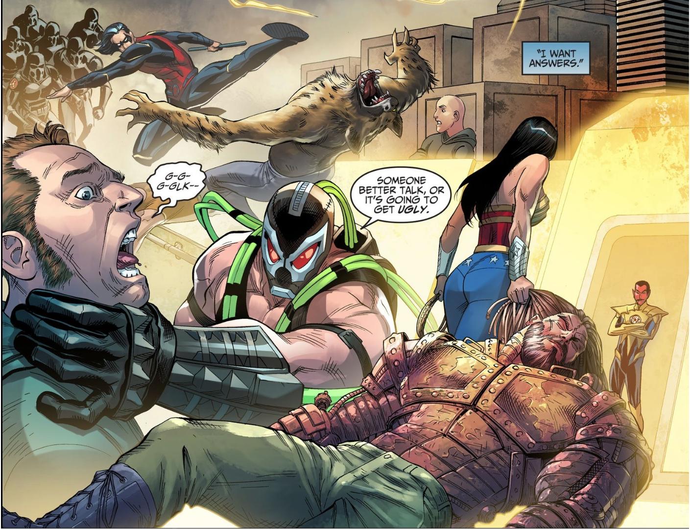 Members Of Superman's Regime