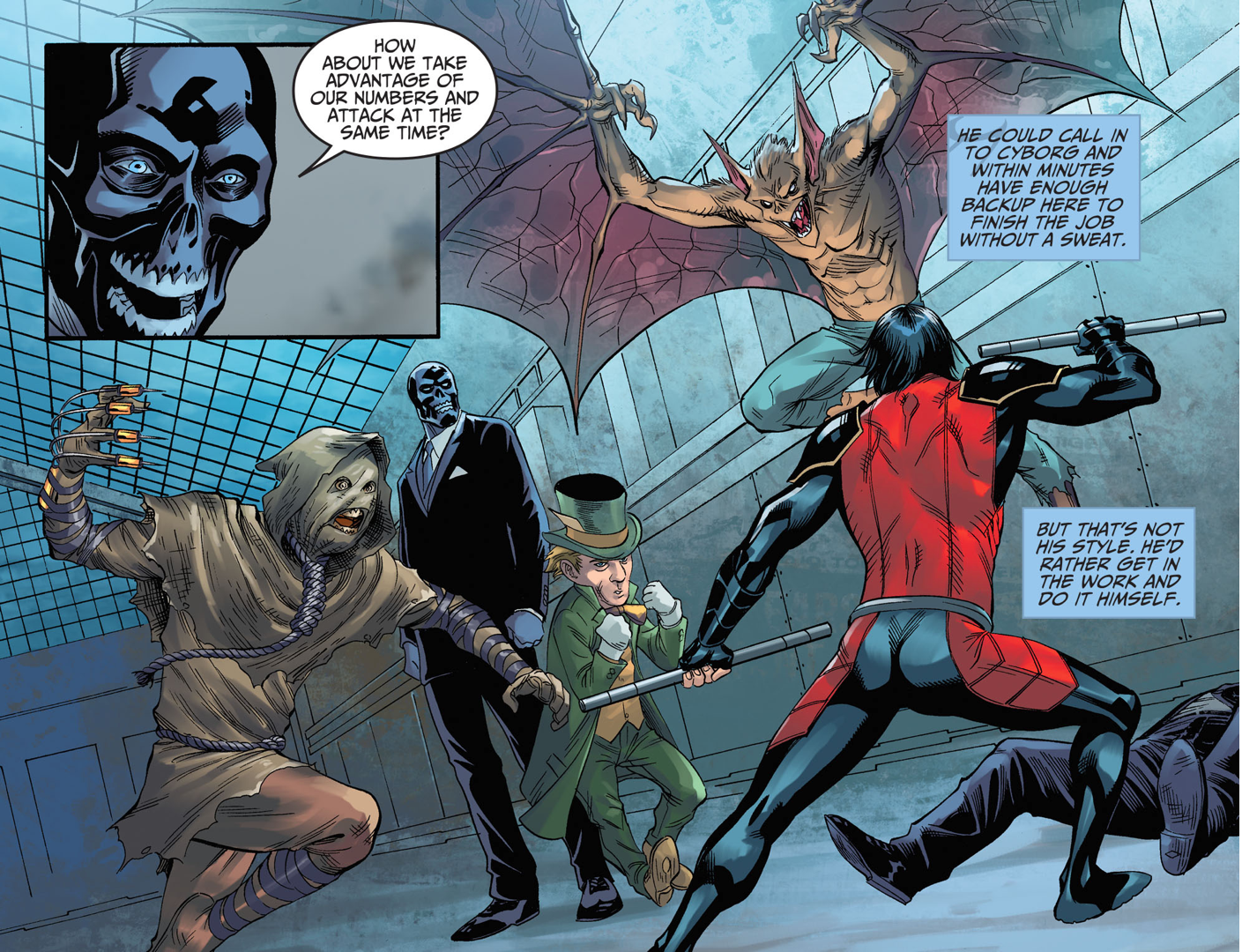 Nightwing's Thoughts On Damian Wayne (Injustice Gods Among Us)