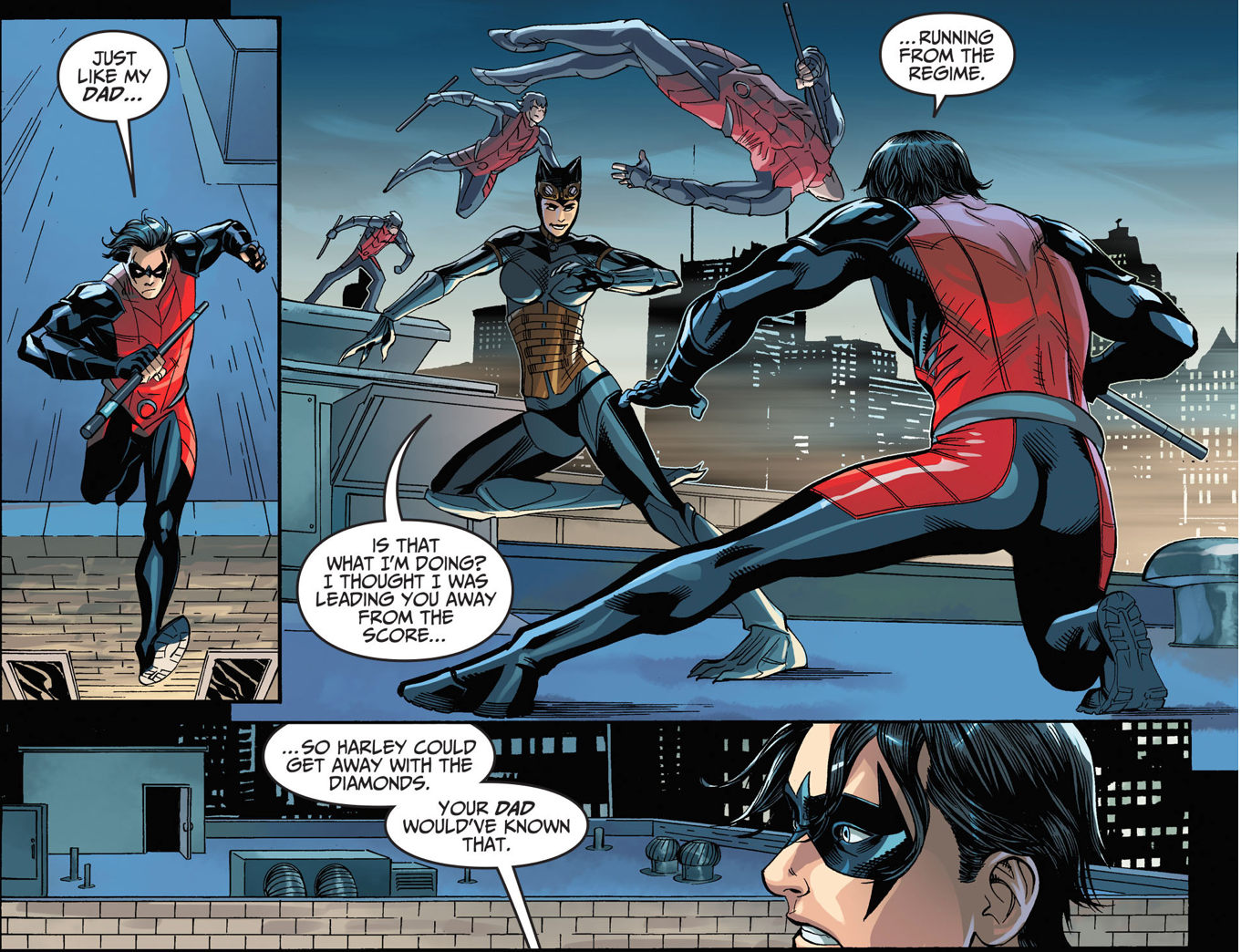 Robin VS Catwoman (Injustice Gods Among Us)