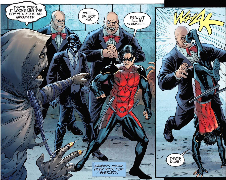 Robin VS Tweedledum (Injustice Gods Among Us)
