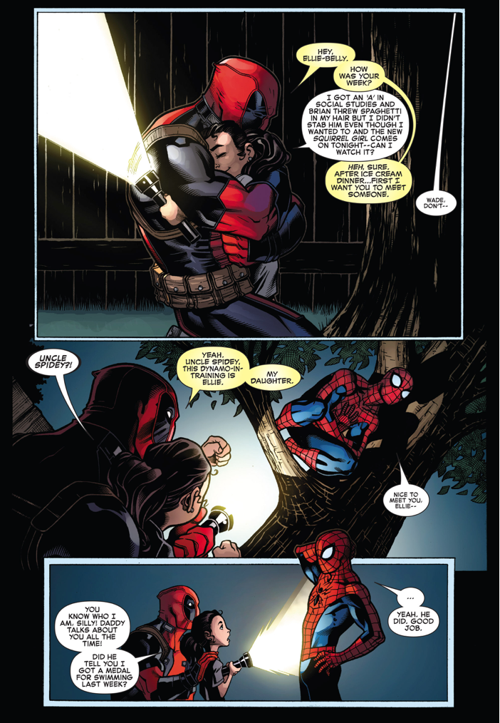 Spider-Man Meets Deadpool's Daughter