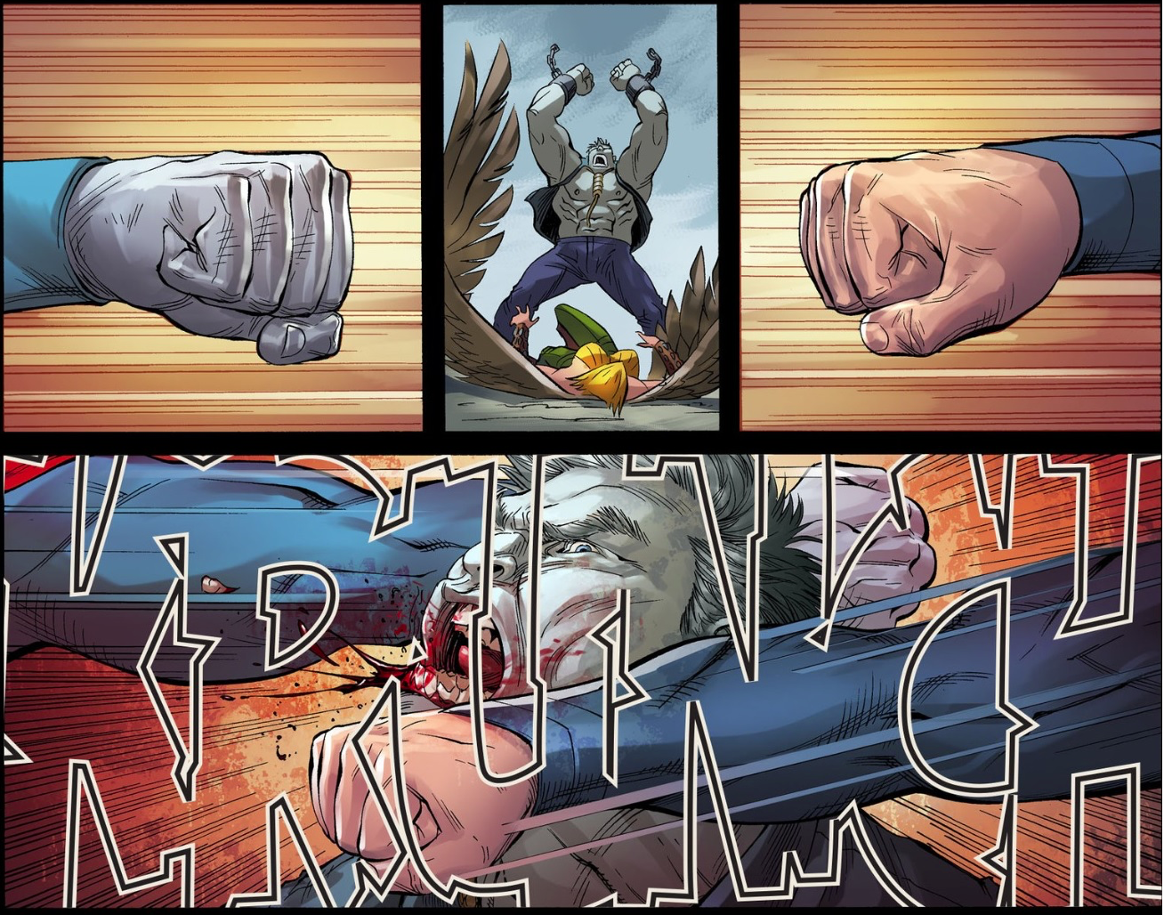 Superman Meets Bizarro (Injustice Gods Among Us)