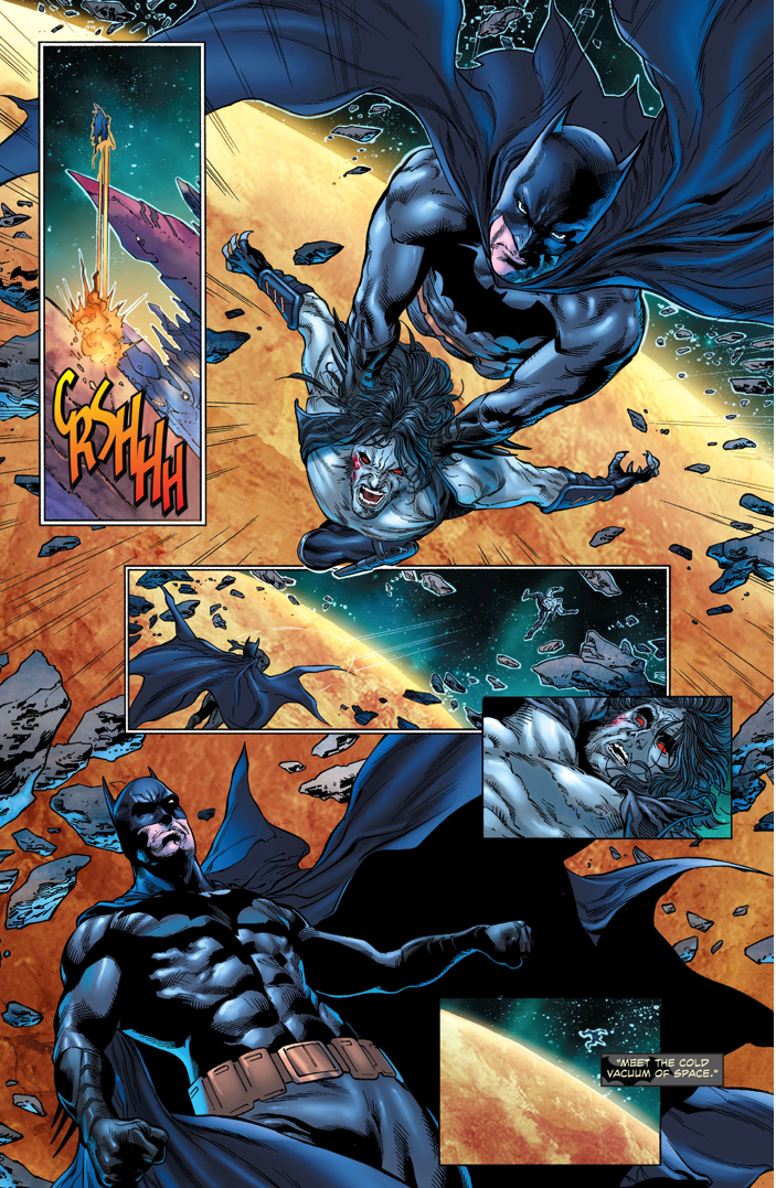 superman takes out lobo and his employer