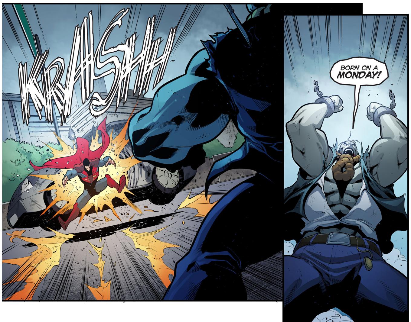 Superman VS Bizarro VS Solomon Grundy (Injustice Gods Among Us)