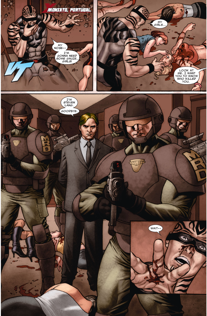 The Mutant Response Division Takes Down The Vanisher