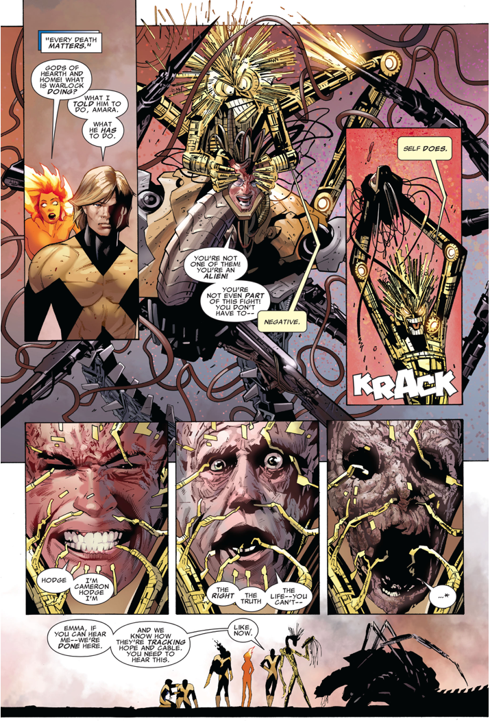 The New Mutants VS Cameron Hodge (Second Coming)