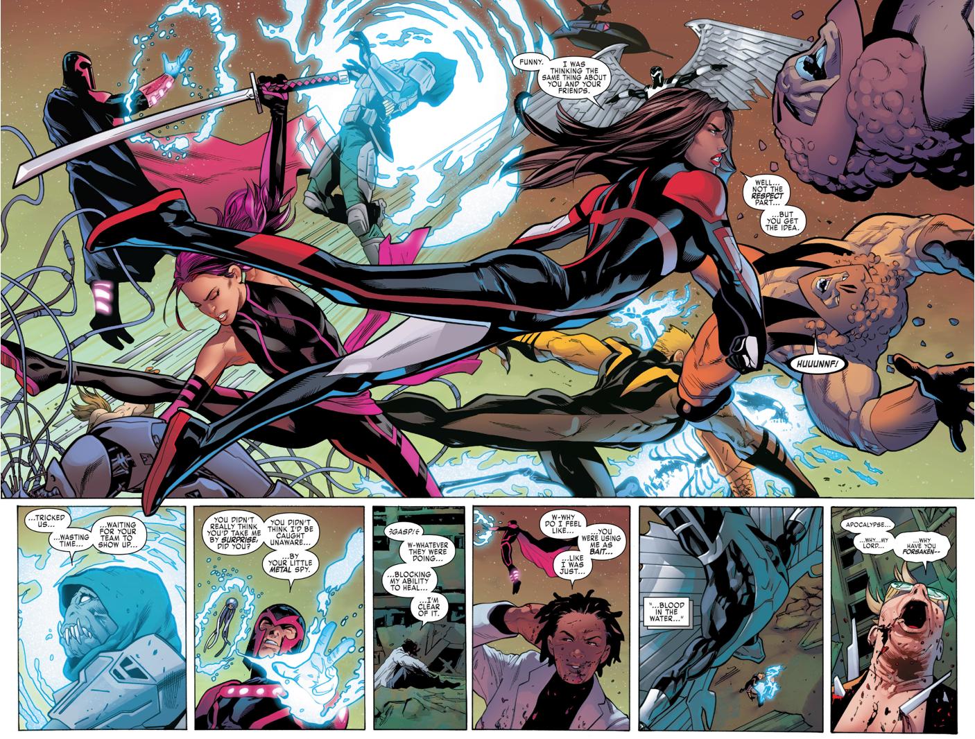 Uncanny X-Men VS The Dark Riders