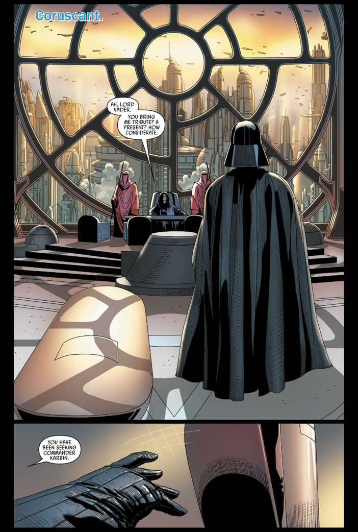 What Darth Vader Did To Commander Karbin's Corpse