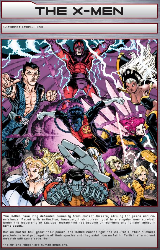 X-Men (Bastion's FIles)