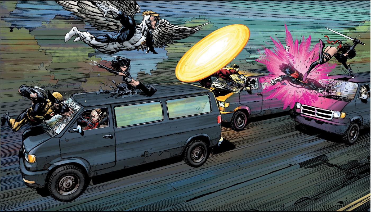 X-Men VS Sapien League (Second Coming)