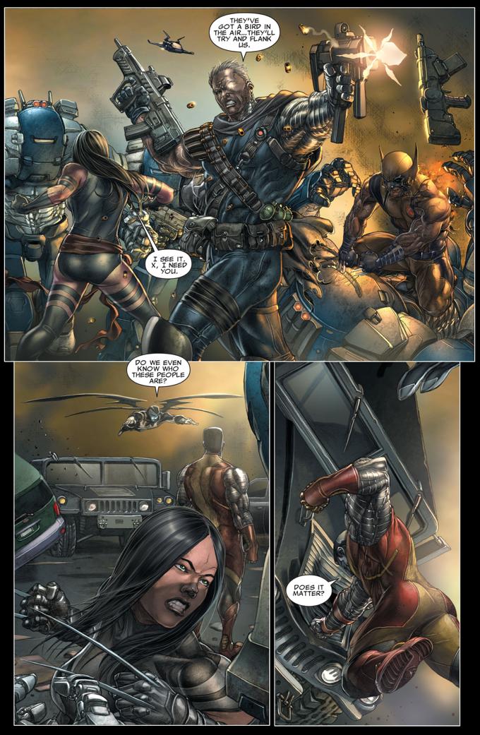 X-Men VS The Right (Second Coming)