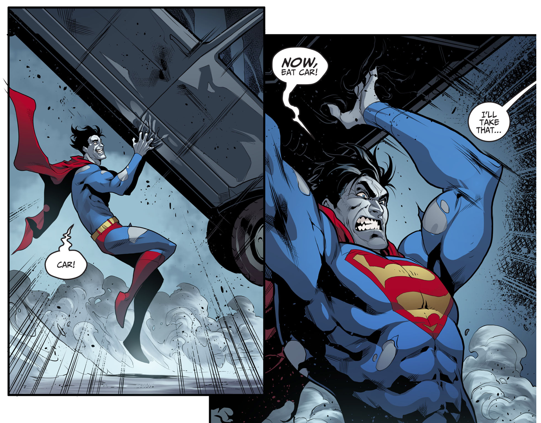 Yellow Lantern Hal Jordan VS Bizarro (Injustice Gods Among Us)