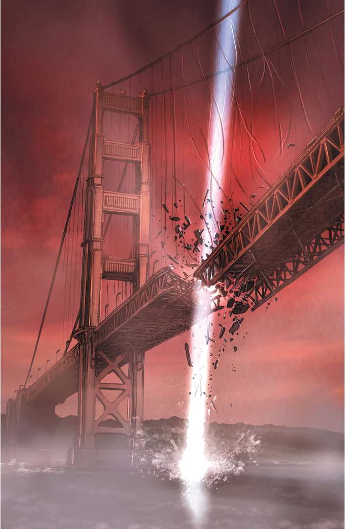 Bastion Destroys The Golden Gate Bridge 1
