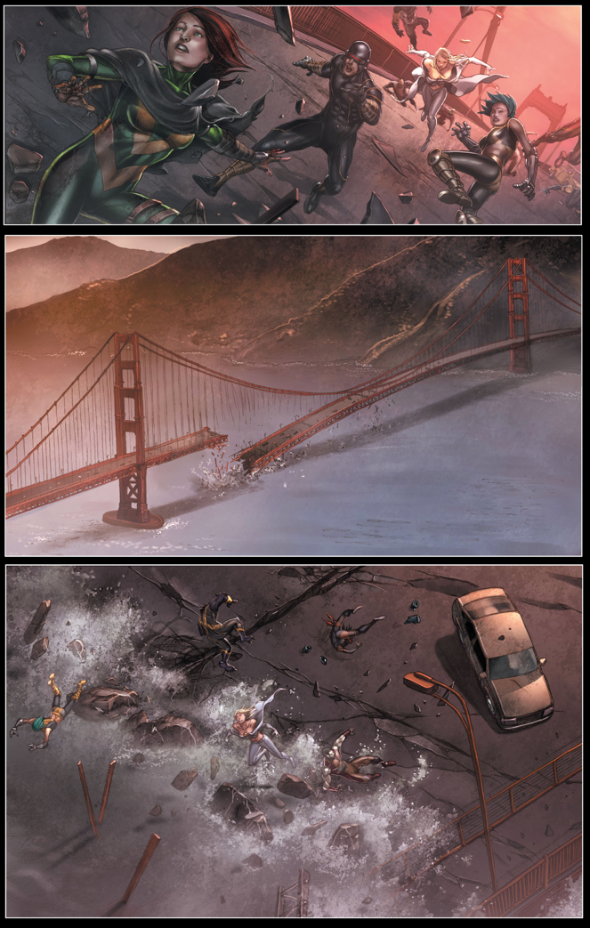 Bastion Destroys The Golden Gate Bridge 1