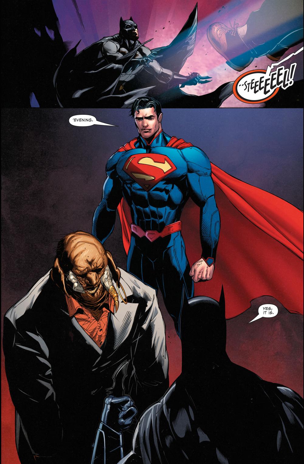 Batman And Superman VS Tusk