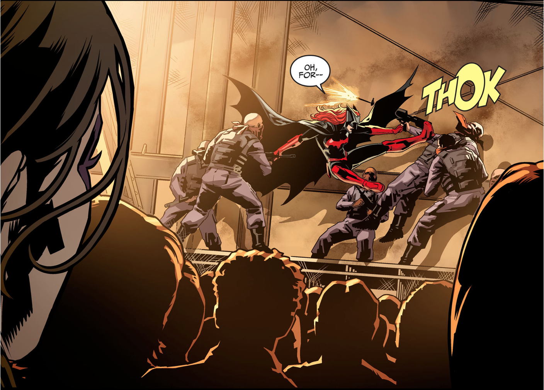Batwoman VS The Joker Underground