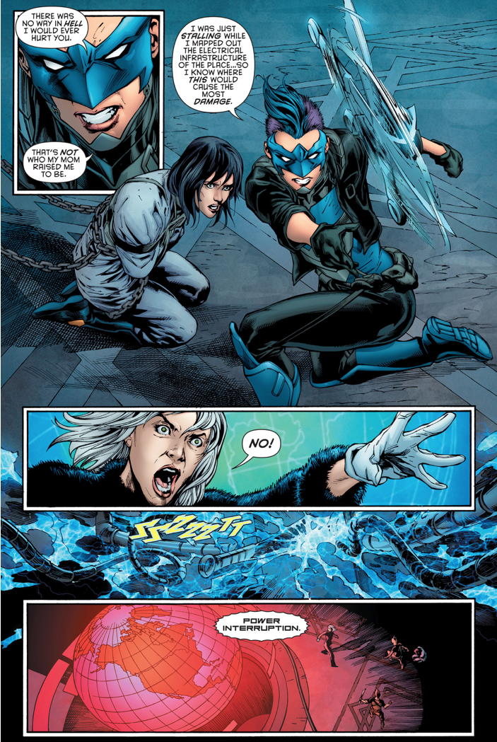 Bluebird Proves She's A Hero