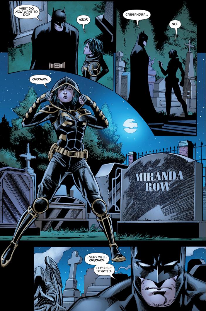 Cassandra Cain Becomes Orphan
