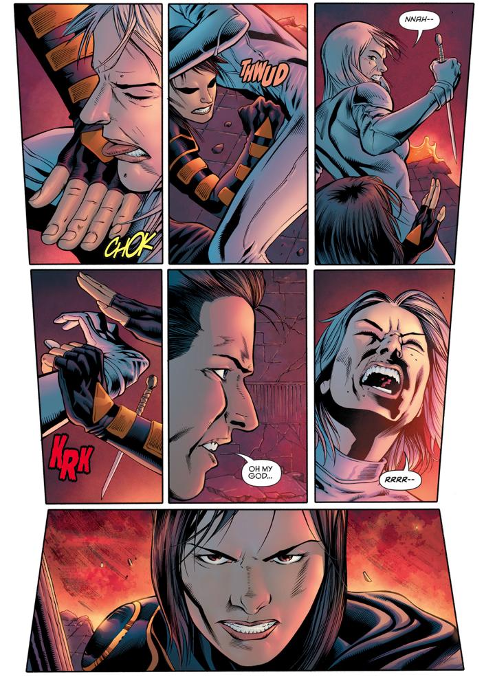 Cassandra Cain VS Mother