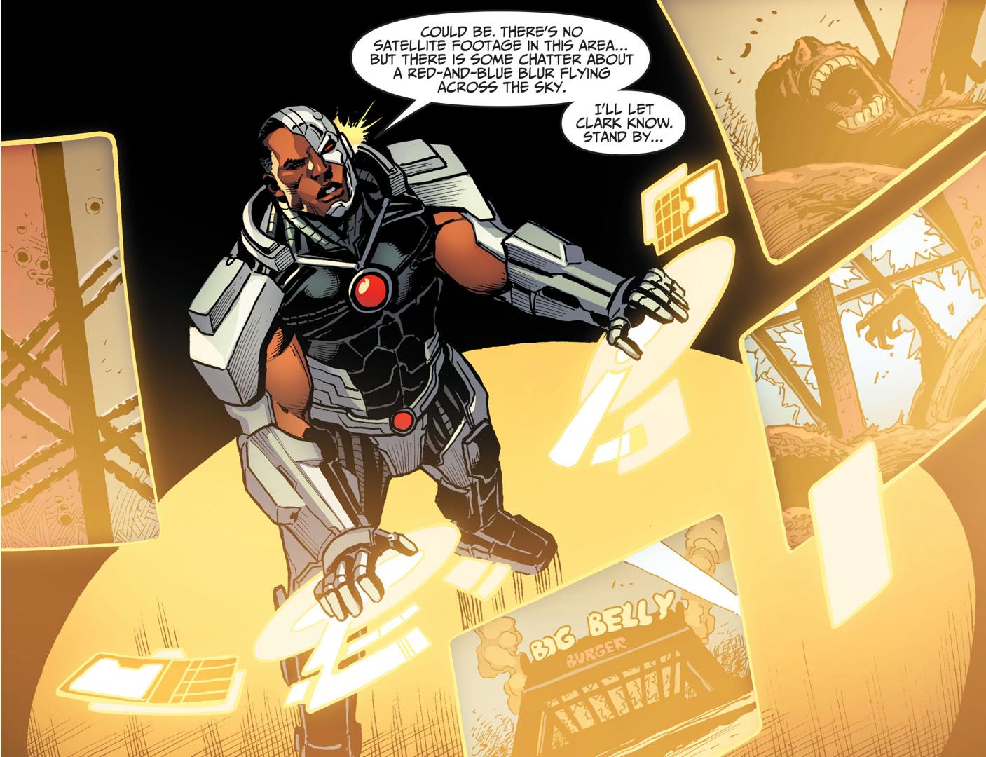 Cyborg (Injustice Gods Among Us)