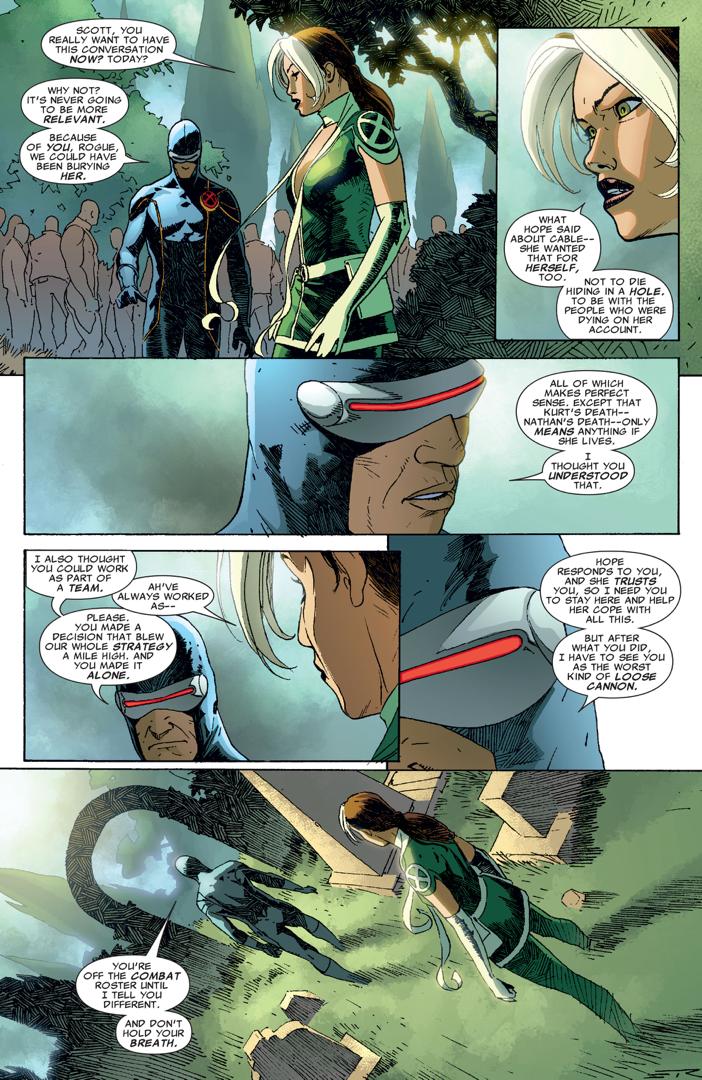 Cyclops's Punishment To Rogue